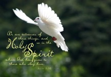 In Our Time The Holy Spirit Will Come Again