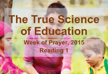 The True  Science  of Education – Reading 1