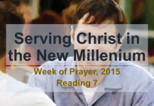 Serving Christ in the New Millenium – Reading 7