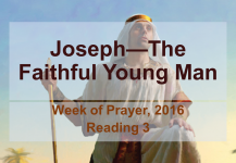 Joseph—The Faithful Young Man: Reading #3