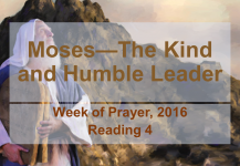 Moses—The Kind and Humble Leader: Reading #4
