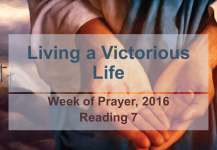 Living a Victorious Life: Reading #7
