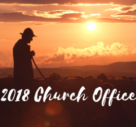 2018 Officers Elected