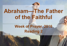 Abraham—The Father of the Faithful: Reading #2